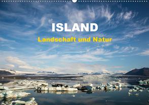 Island – Landschaft und Natur (Wandkalender 2021 DIN A2 quer) von Rusch - www.w-rusch.de,  Winfried