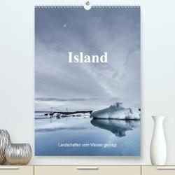 Island – Landschaften vom Wasser geprägt (Premium, hochwertiger DIN A2 Wandkalender 2021, Kunstdruck in Hochglanz) von Sulima,  Dirk