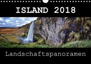Island Landschaftspanoramen (Wandkalender 2018 DIN A4 quer) von Vonten,  Dirk