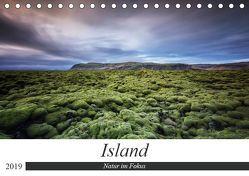 Island – Natur im Fokus (Tischkalender 2019 DIN A5 quer) von Weck,  Dieter