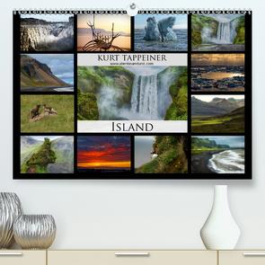 Island (Premium, hochwertiger DIN A2 Wandkalender 2021, Kunstdruck in Hochglanz) von Tappeiner,  Kurt