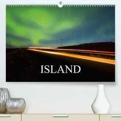 Island (Premium, hochwertiger DIN A2 Wandkalender 2021, Kunstdruck in Hochglanz) von Luedke,  Sebastian
