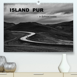 Island pur (Premium, hochwertiger DIN A2 Wandkalender 2021, Kunstdruck in Hochglanz) von Irmer,  Roswitha
