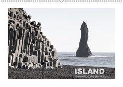ISLAND – RAUH UND ZAUBERHAFTAT-Version (Wandkalender 2019 DIN A2 quer) von Steiner,  Ingrid