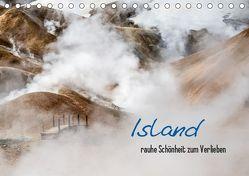 Island – rauhe Schönheit zum Verlieben (Tischkalender 2019 DIN A5 quer) von Hirscher,  Jacqueline