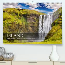 Island – Spektakuläre Landschaft aus Feuer, Wasser und Eis (Premium, hochwertiger DIN A2 Wandkalender 2021, Kunstdruck in Hochglanz) von Rosyk,  Patrick