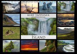 Island (Tischkalender 2019 DIN A5 quer) von Tappeiner,  Kurt
