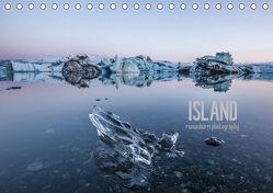 Island (Tischkalender 2019 DIN A5 quer) von Burri,  Roman