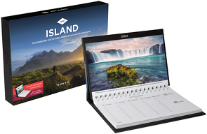 Island Tischkalender 2021 von KUNTH Verlag