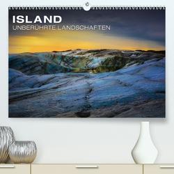 Island – Unberührte Landschaften (Premium, hochwertiger DIN A2 Wandkalender 2021, Kunstdruck in Hochglanz) von Paul Kaiser,  Frank
