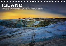 Island – Unberührte Landschaften (Tischkalender 2021 DIN A5 quer) von Paul Kaiser,  Frank