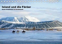 Island und die Färöer (Tischkalender 2018 DIN A5 quer) von Pantke,  Reinhard