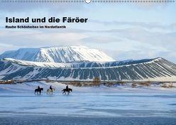 Island und die Färöer (Wandkalender 2018 DIN A2 quer) von Pantke,  Reinhard
