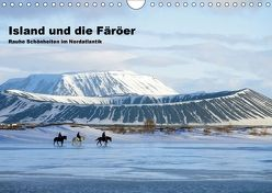 Island und die Färöer (Wandkalender 2018 DIN A4 quer) von Pantke,  Reinhard
