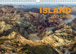 Island von oben (Wandkalender 2019 DIN A4 quer) von Ratzer,  Klaus