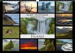 Island (Wandkalender 2018 DIN A3 quer) von Tappeiner,  Kurt