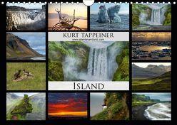 Island (Wandkalender 2019 DIN A4 quer) von Tappeiner,  Kurt