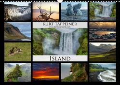 Island (Wandkalender 2021 DIN A3 quer) von Tappeiner,  Kurt