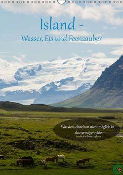 Island – Wasser, Eis und Feenzauber (Wandkalender 2019 DIN A3 hoch) von Alexandra Burdis,  ©