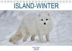 ISLAND-WINTER (Tischkalender 2019 DIN A5 quer) von Gerken,  Klaus