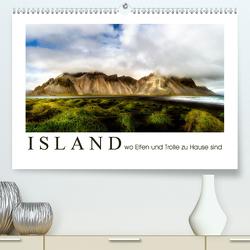 Island wo Elfen und Trolle zuhause sind (Premium, hochwertiger DIN A2 Wandkalender 2021, Kunstdruck in Hochglanz) von Sulima,  Dirk