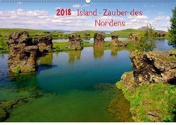 Island – Zauber des Nordens (Wandkalender 2018 DIN A2 quer) von Pantke,  Reinhard