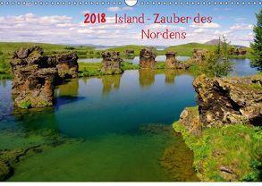 Island – Zauber des Nordens (Wandkalender 2018 DIN A3 quer) von Pantke,  Reinhard
