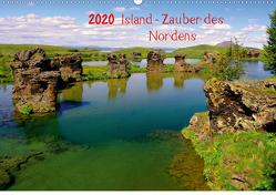 Island – Zauber des Nordens (Wandkalender 2020 DIN A2 quer) von Pantke,  Reinhard
