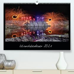 Islandabenteuer 2021 (Premium, hochwertiger DIN A2 Wandkalender 2021, Kunstdruck in Hochglanz) von Heilmann,  Gunnar