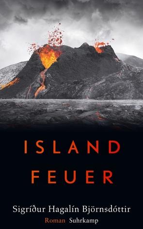Islandfeuer von Björnsdóttir,  Sigri∂ur Hagalín, Flecken,  Tina