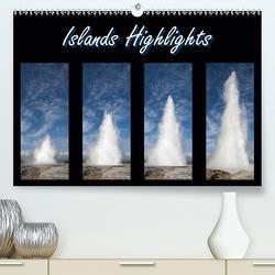 Islands Highlights (Premium, hochwertiger DIN A2 Wandkalender 2021, Kunstdruck in Hochglanz) von Scholz,  Frauke