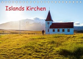 Islands Kirchen (Tischkalender 2018 DIN A5 quer) von Klesse,  Andreas