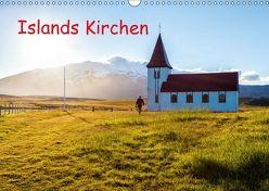 Islands Kirchen (Wandkalender 2018 DIN A3 quer) von Klesse,  Andreas
