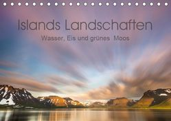 Islands Landschaften – Wasser, Eis und grünes Moos (Tischkalender 2019 DIN A5 quer) von Hartung,  Salke