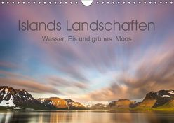 Islands Landschaften – Wasser, Eis und grünes Moos (Wandkalender 2019 DIN A4 quer) von Hartung,  Salke