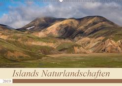 Islands Naturlandschaften (Wandkalender 2019 DIN A2 quer) von Jürgens,  Olaf