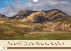 Islands Naturlandschaften (Wandkalender 2019 DIN A4 quer) von Jürgens,  Olaf
