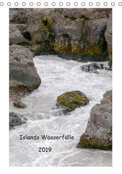 Islands Wasserfälle (Tischkalender 2019 DIN A5 hoch) von Stephan,  Robert