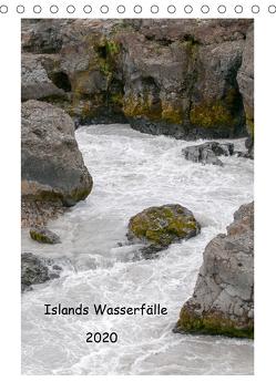 Islands Wasserfälle (Tischkalender 2020 DIN A5 hoch) von Stephan,  Robert