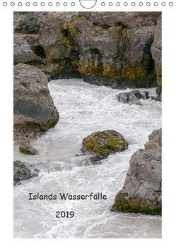 Islands Wasserfälle (Wandkalender 2019 DIN A4 hoch) von Stephan,  Robert