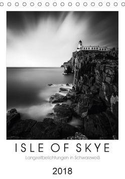 Isle of Skye – Langzeitbelichtungen in Schwarzweiß (Tischkalender 2018 DIN A5 hoch) von Bichler,  Thomas