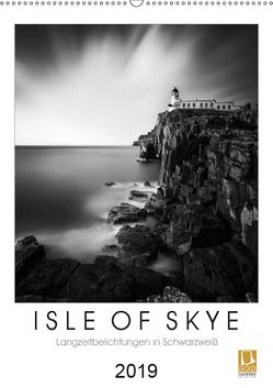 Isle of Skye – Langzeitbelichtungen in Schwarzweiß (Wandkalender 2019 DIN A2 hoch) von Bichler,  Thomas