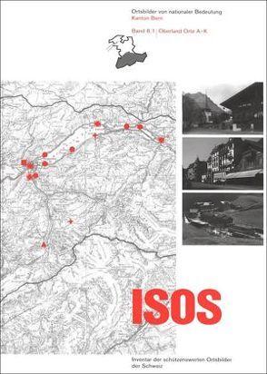 ISOS, Ortsbilder von nationaler Bedeutung Kanton Bern, Band 8 Oberland