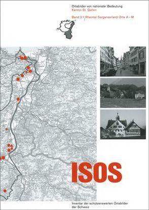 ISOS, Ortsbilder von nationaler Bedeutung Kanton St. Gallen, Band 2 Rheintal Sarganserland