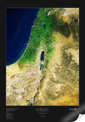Israel und Nachbargebiete von Diemer,  Claudius