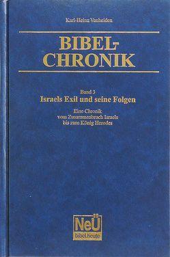 Israels Exil und seine Folgen von Vanheiden,  Karl-Heinz