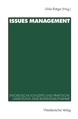Issues Management von Röttger,  Ulrike
