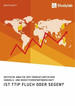 Ist TTIP Fluch oder Segen? Kritische Analyse der Transatlantischen Handels- und Investitionspartnerschaft von anonym
