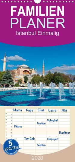 Istanbul Einmalig – Familienplaner hoch (Wandkalender 2020 , 21 cm x 45 cm, hoch) von Enders,  Borg