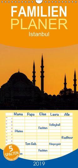Istanbul – Familienplaner hoch (Wandkalender 2019 , 21 cm x 45 cm, hoch) von Ködder,  Rico